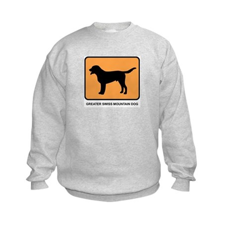 Greater Swiss Mountain Dog (s Kids Sweatshirt