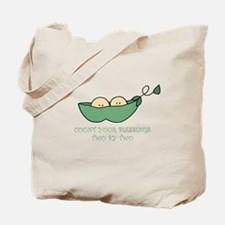 count your blessings.. Tote Bag