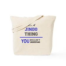 Cute Jindo Tote Bag