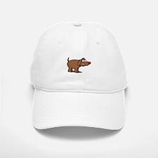 Brown Dog Baseball Baseball Cap