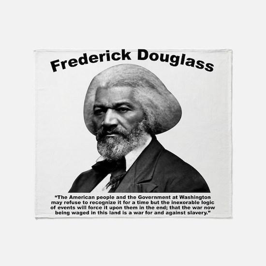 Douglass: War Throw Blanket
