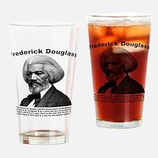 Douglass: War Drinking Glass