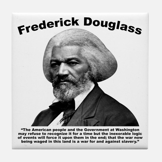 Douglass: War Tile Coaster