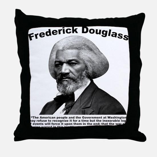 Douglass: War Throw Pillow