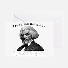 Douglass: War Greeting Card