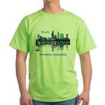 Perth, Western Australia Green T-Shirt