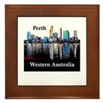 Perth, Western Australia Framed Tile