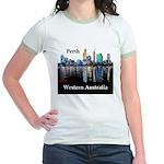Perth, Western Australia Jr. Ringer T-Shirt