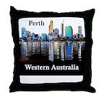 Perth, Western Australia Throw Pillow