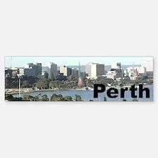 Perth, Western Australia Bumper Bumper Bumper Sticker
