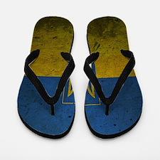 Ukrainian Flag Flip Flops