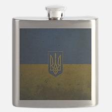 Ukrainian Flag Flask