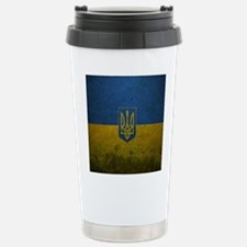 Ukrainian Flag Travel Mug