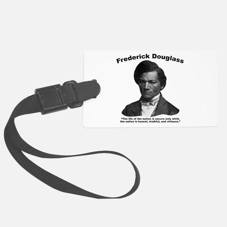 Douglass: Virtuous Luggage Tag