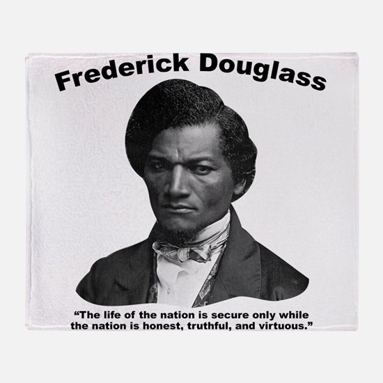 Douglass: Virtuous Throw Blanket