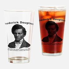 Douglass: Virtuous Drinking Glass