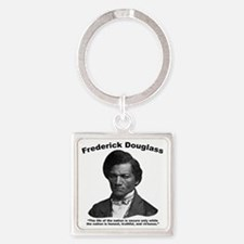 Douglass: Virtuous Square Keychain