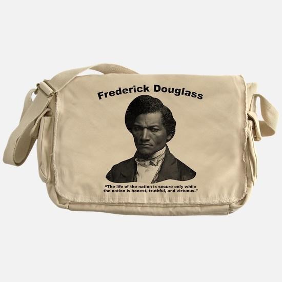 Douglass: Virtuous Messenger Bag
