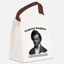 Douglass: Virtuous Canvas Lunch Bag
