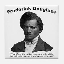 Douglass: Virtuous Tile Coaster