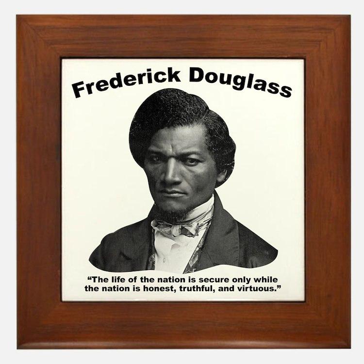 Douglass: Virtuous Framed Tile