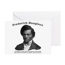 Douglass: Virtuous Greeting Card