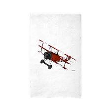 Cute Airplane Area Rug