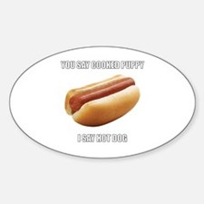 Unique Hot dogs Decal