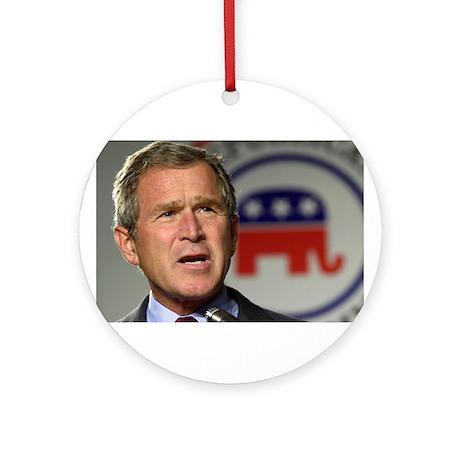 Bush - Elephant Round Ornament