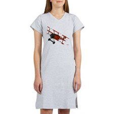 Cute Airplanes Women's Nightshirt