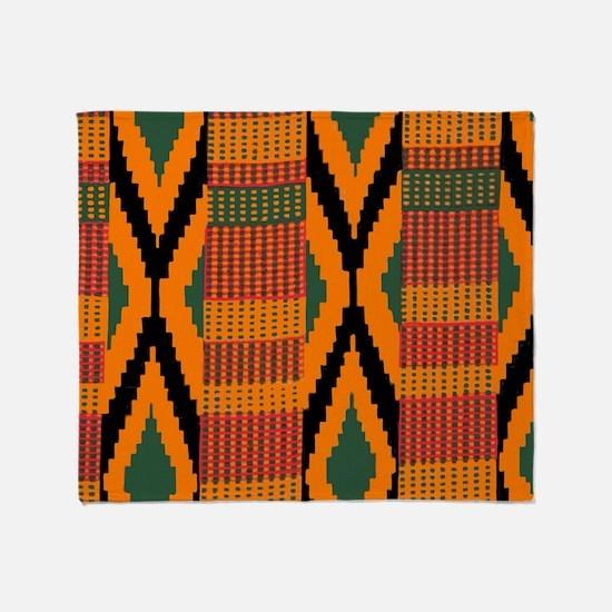 Cute African Throw Blanket