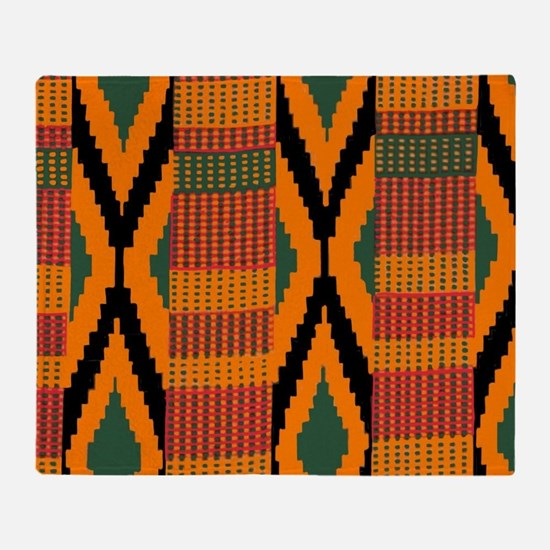 Cute Africa Throw Blanket