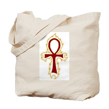 Egyptian Ankh Shopping Tote Bag
