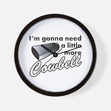 cowbell2.png Wall Clock