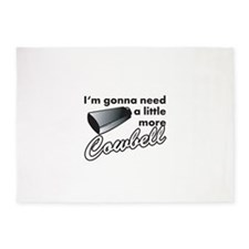 cowbell2.png 5'x7'Area Rug