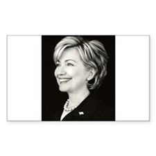 NewHillary Rectangle Decal