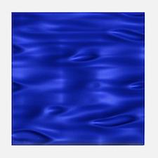 Blue Waves Tile Coaster