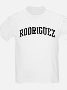 RODRIGUEZ (curve-black) T-Shirt