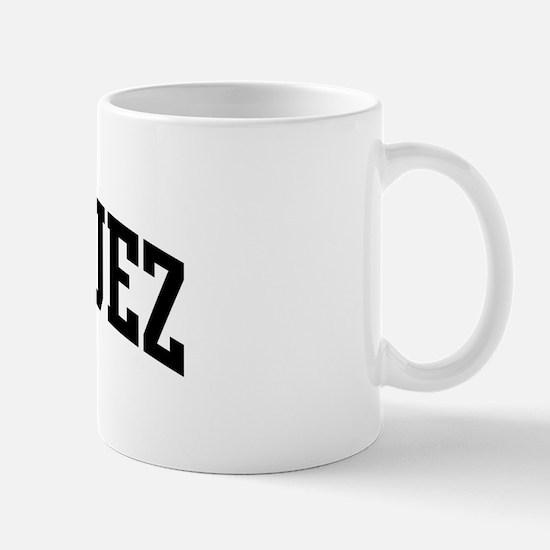 RODRIGUEZ (curve-black) Mug
