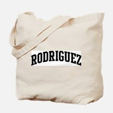 RODRIGUEZ (curve-black) Tote Bag