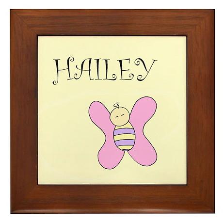 Custom Baby or Child's name Framed Tile