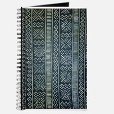 Mud Cloth Inspired Journal
