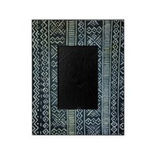 Mud Cloth Inspired Picture Frame