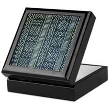Mud Cloth Inspired Keepsake Box