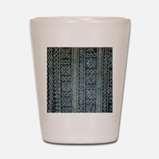 Mud Cloth Inspired Shot Glass
