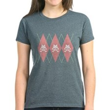 Argyle Kitty XBones Tee