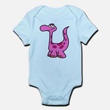 Purple Dinosaur Body Suit