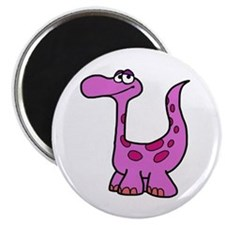 Purple Dinosaur Magnets