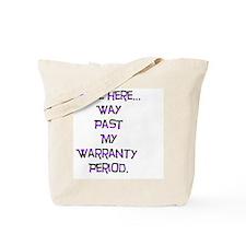 Unique Warranties Tote Bag