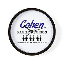 Cohen Family Reunion Wall Clock